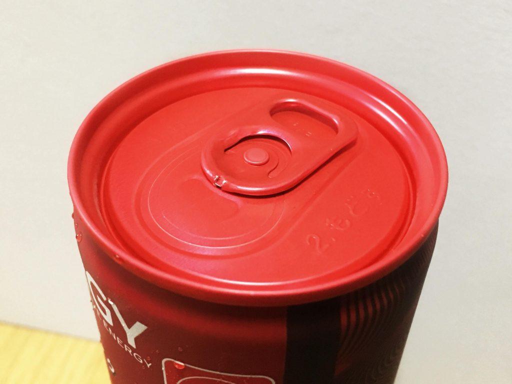 コカ・コーラ エナジー_缶上面アップ